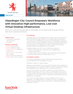 Vlaardingen City Council Empowers Workforce with Innovative High-performance, Low-cost VDI
